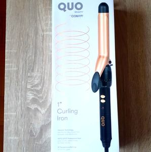 """Quo Beauty Conair 1"""" Curling Iron"""